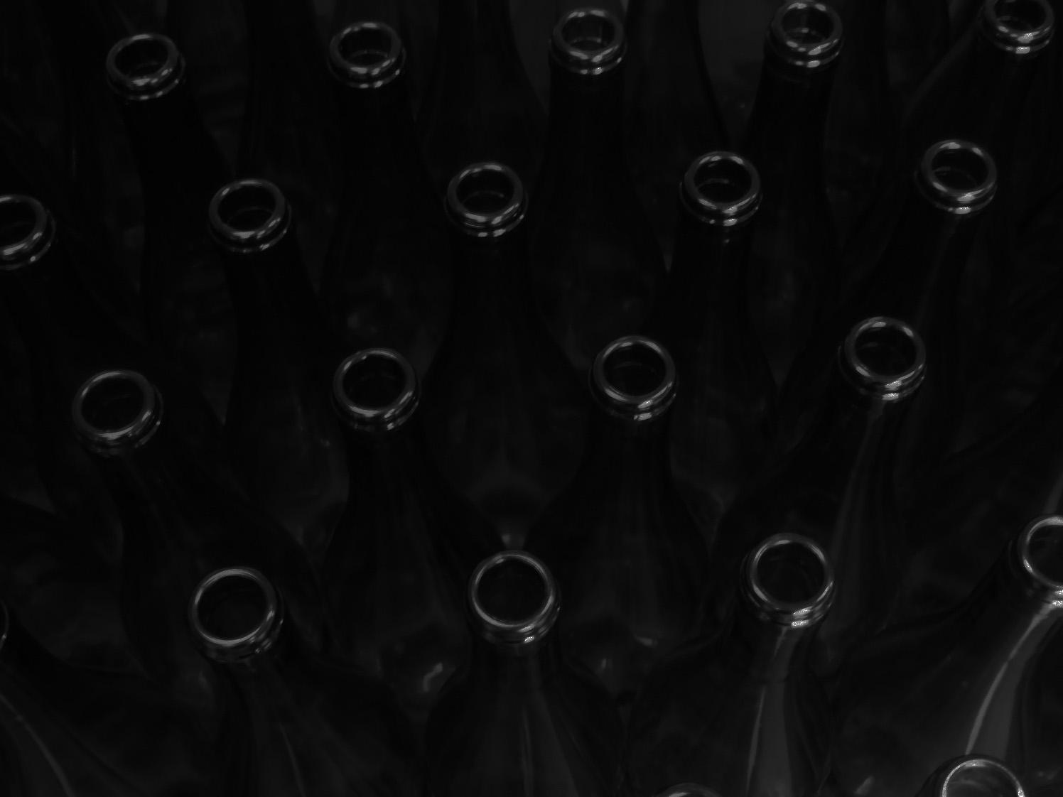 bouteilles vides Domaine Lacondemine